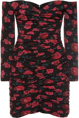 GIUSEPPE DI MORABITO Damen Freizeitkleider - Minikleid Aus Wolle Mit Druck
