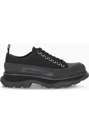Alexander McQueen Damen Schnürschuhe - Black Tread Slick low-top lace-up shoes