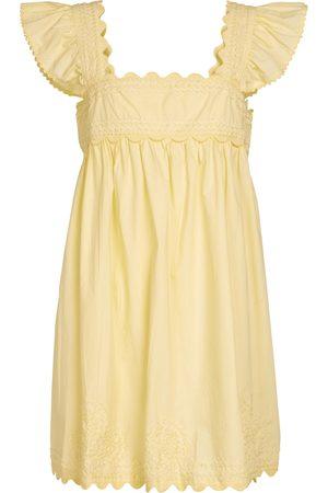 Juliet Dunn Minikleid aus Baumwolle