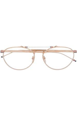Thom Browne Eyewear Sonnenbrillen - Klassische Pilotenbrille