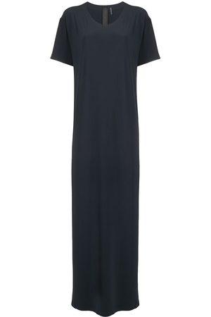 Norma Kamali Damen Freizeitkleider - T-Shirtkleid mit Schlitz