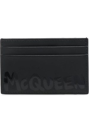 Alexander McQueen Kartenetui mit Logo-Print