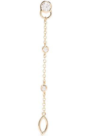Courbet 18kt Gelbgoldohrring mit Diamanten