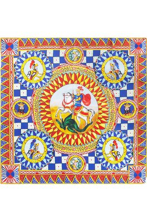 Dolce & Gabbana Damen Schals - Schal mit grafischem Print