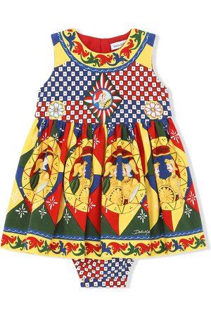 Dolce & Gabbana Kleid mit geometrischem Print