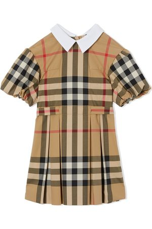 Burberry Kleid mit Check
