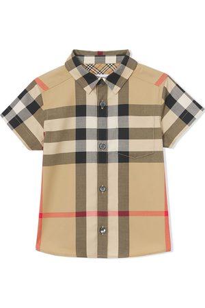 Burberry Baby Blusen - Hemd mit Karomuster