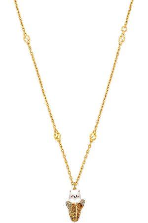 Gucci Herren Halsketten - X Bananya Halskette mit Kristallen