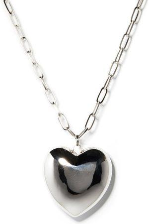 Lauren Rubinski Heart 14kt White- Necklace