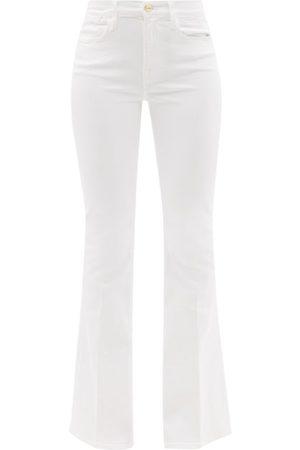 FRAME Le High Cotton-blend Flared-leg Jeans