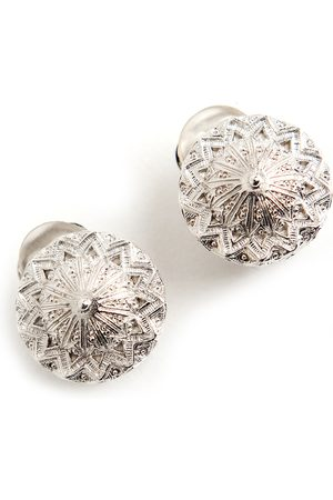 Dior Pre-owned button clip on earrings , Damen, Größe: One size