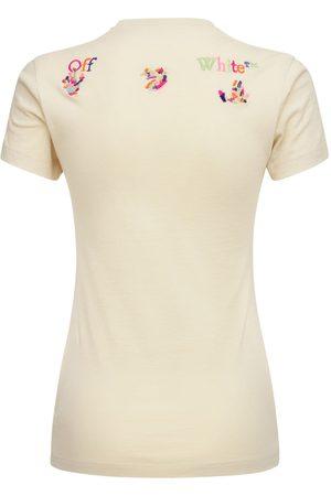 OFF-WHITE T-shirt Mit Regenbogen-patch, Lvr Exclusive