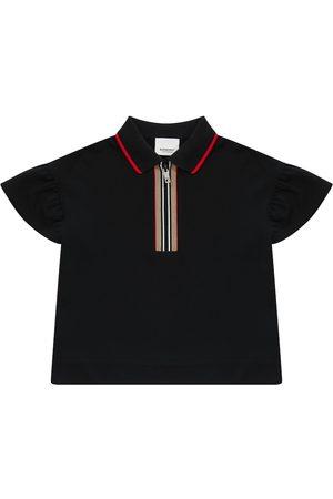 Burberry Polohemd Icon Stripe aus Baumwolle
