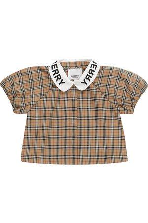 Burberry Kids Baby Bluse aus Baumwolle