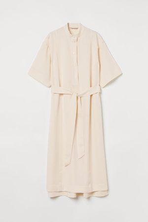 H & M Damen Freizeitkleider - Blusenkleid in A-Linie