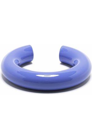 UNCOMMON MATTERS Große Swell Armspange mit Zylinderform