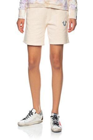 True Religion Damen Shorts - Short Pale Pink