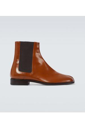 Maison Margiela Chelsea Boots Tabi aus Leder