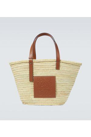 Loewe Paula's Ibiza Tote Bag mit Leder