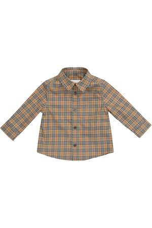 Burberry Baby Hemd Archive Check aus Baumwolle