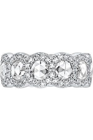 David Morris Damen Ringe - 18kt Weißgoldring