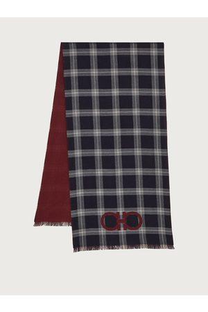 Salvatore Ferragamo Herren Double sided scarf