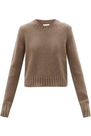 Raey Crew-neck Alpaca-blend Textured Sweater