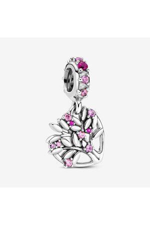 PANDORA Rosafarbener Familienstammbaum Charm-Anhänger