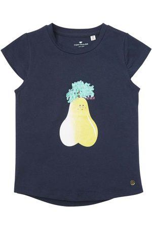 TOM TAILOR Mädchen T-Shirt mit Früchte-Logo, , Gr.104/110