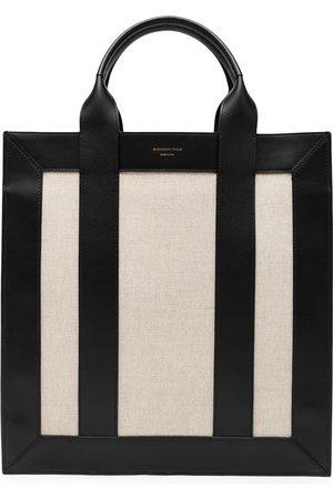 SHANGHAI TANG Damen Handtaschen - Zweifarbiger Shopper