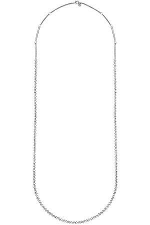 ALINKA Damen Halsketten - 18kt Amalfi Weißgoldhalskette mit Diamanten