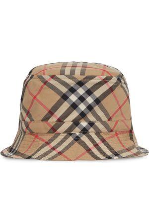 Burberry Vintage Check print bucket hat