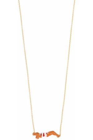 Aliita Damen Halsketten - 9kt Goldhalskette mit Schwimmer-Motiv