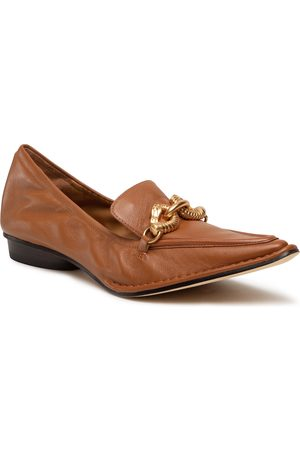 Tory Burch Jessa Pointy Toe Loafer 80066 Cinnamon Brown/Cinnamon Brown 200