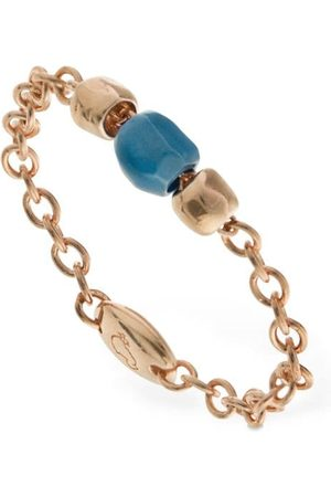 """Dodo Ring Aus 9kt Gold Und Keramik """"granelli"""""""