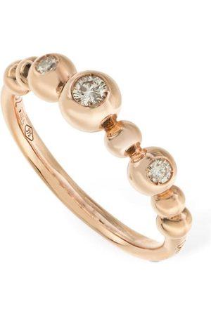 """Dodo Ring Aus 9kt Gold Mit Diamanten """"bollicine"""""""