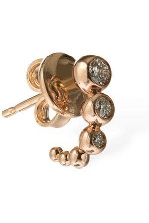 "Dodo Damen Ohrringe - Mono-ohrring Aus 9kt Gold & Diamanten ""bollicine"""