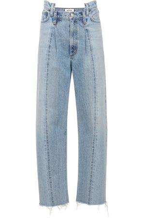 AGOLDE Gerade Jeans Aus Baumwolle