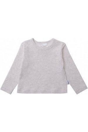 LILIPUT Langarmshirt » melange« mit praktischen Druckknöpfen