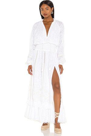 HEMANT AND NANDITA Damen Maxikleider - X REVOLVE Mavi Maxi Dress in . Size XS, S, M.