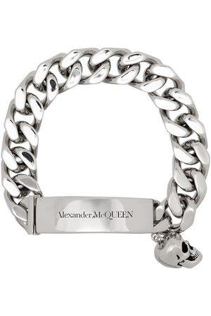 Alexander McQueen Herren Armbänder - Kettenarmband mit Totenkopf