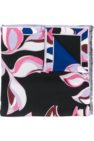 Emilio Pucci Damen Schals - Bedruckter Schal mit Fransen