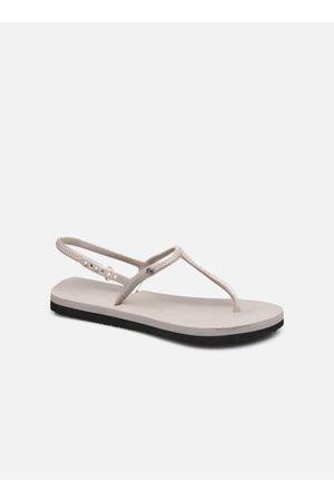 Isotoner Sandale Everywear duo unie bride irrisée by