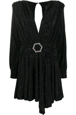 Philipp Plein Damen Freizeitkleider - Langärmeliges Minikleid