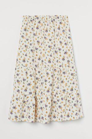 H&M Stufenrock mit Schlitz