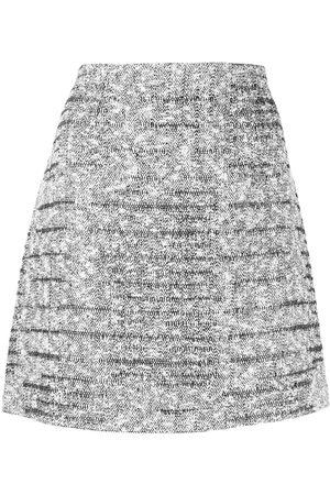Paule Ka Tweed Lurex Minirock