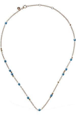 DODO Damen Halsketten - Halskette Aus 9kt Gold Ujnd Keramik