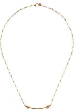 "DODO Lange Halskette Aus 9kt Roségold ""nodo"""