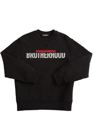 Dsquared2 Sweatshirt Aus Baumwolle Mit Logodruck