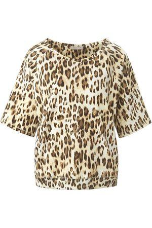 Margittes Rundhals-Shirt mehrfarbig